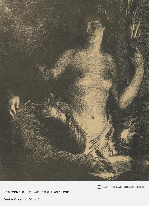 Henri-Jean-Theodore Fantin-Latour, L'Inspiration