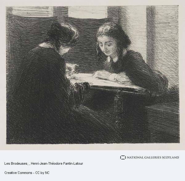Henri-Jean-Théodore Fantin-Latour, Les Brodeuses