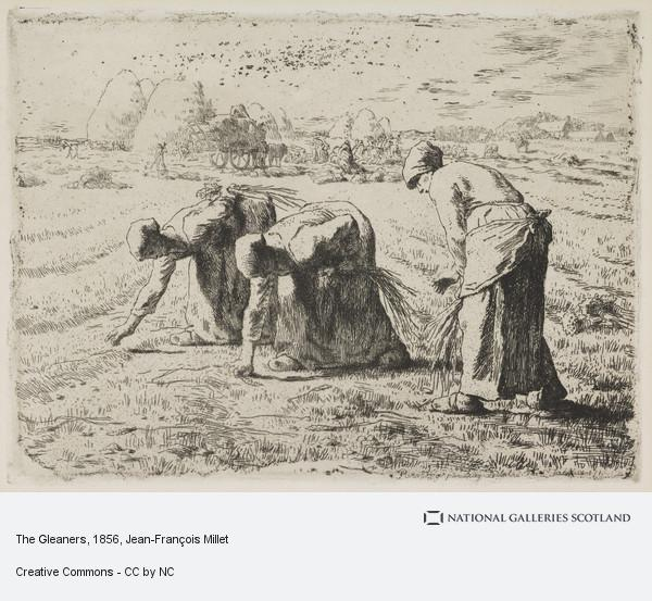 Jean-François Millet, The Gleaners