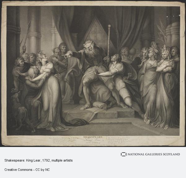 Richard Earlom, Shakespeare: King Lear