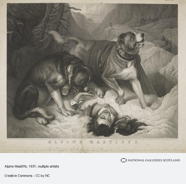 John Landseer, Alpine Mastiffs