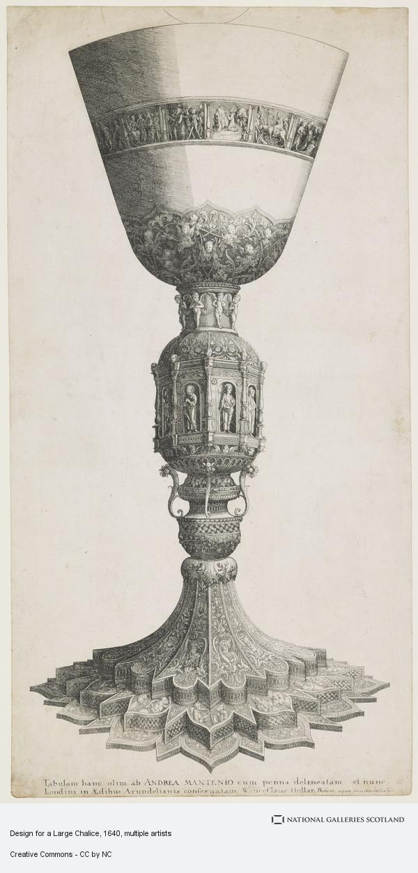 Wenceslaus Hollar, Design for a Large Chalice