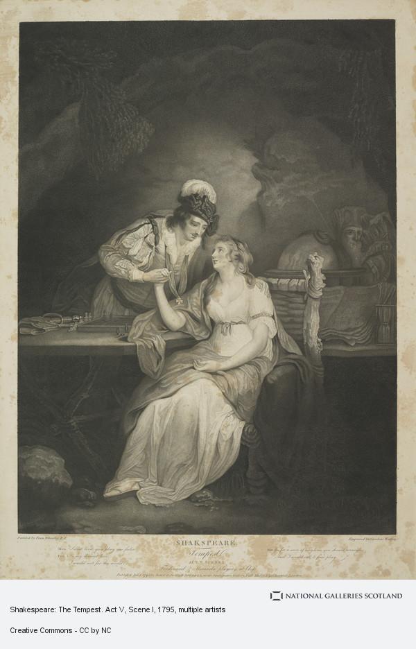 Caroline Watson, Shakespeare: The Tempest. Act V, Scene I