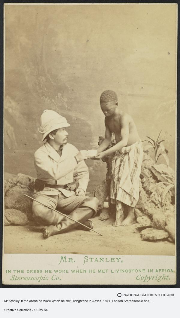London Stereoscopic and Photographic Company, Mr Stanley in the dress he wore when he met Livingstone in Africa