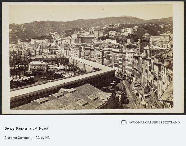 A. Noack, Genoa, Panorama