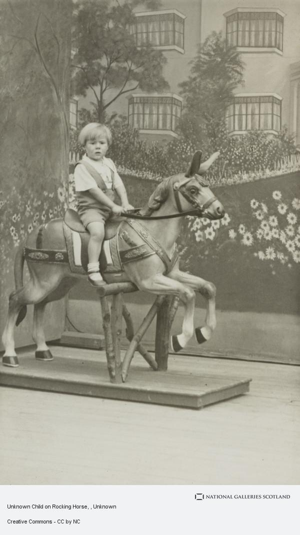 Unknown, Unknown Child on Rocking Horse