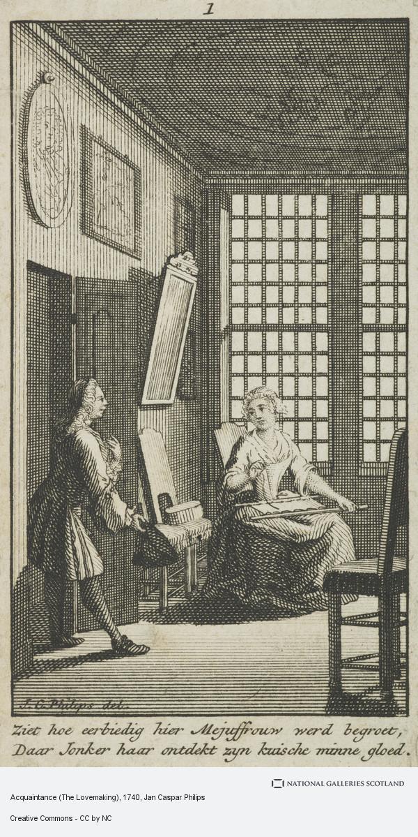 Jan Caspar Philips, Acquaintance (The Lovemaking)