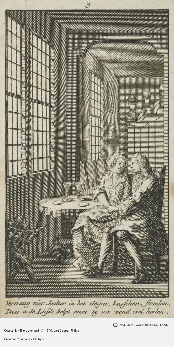 Jan Caspar Philips, Courtship (The Lovemaking)
