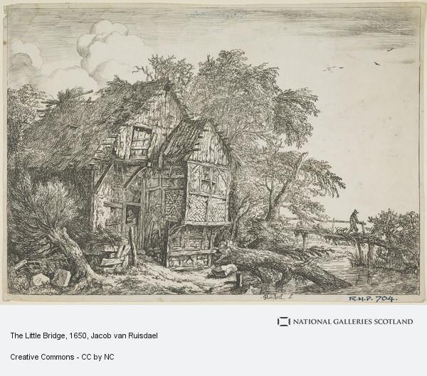 Jacob Isaacsz van Ruisdael, The Little Bridge
