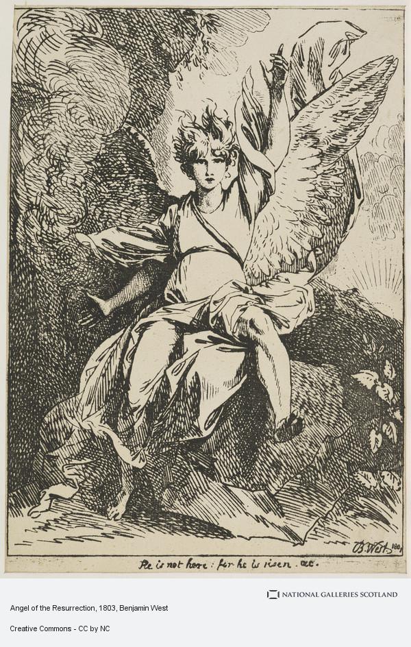 Benjamin West, Angel of the Resurrection