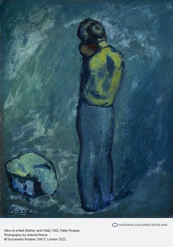 Pablo Picasso, Mère et enfant [Mother and Child] (1902)