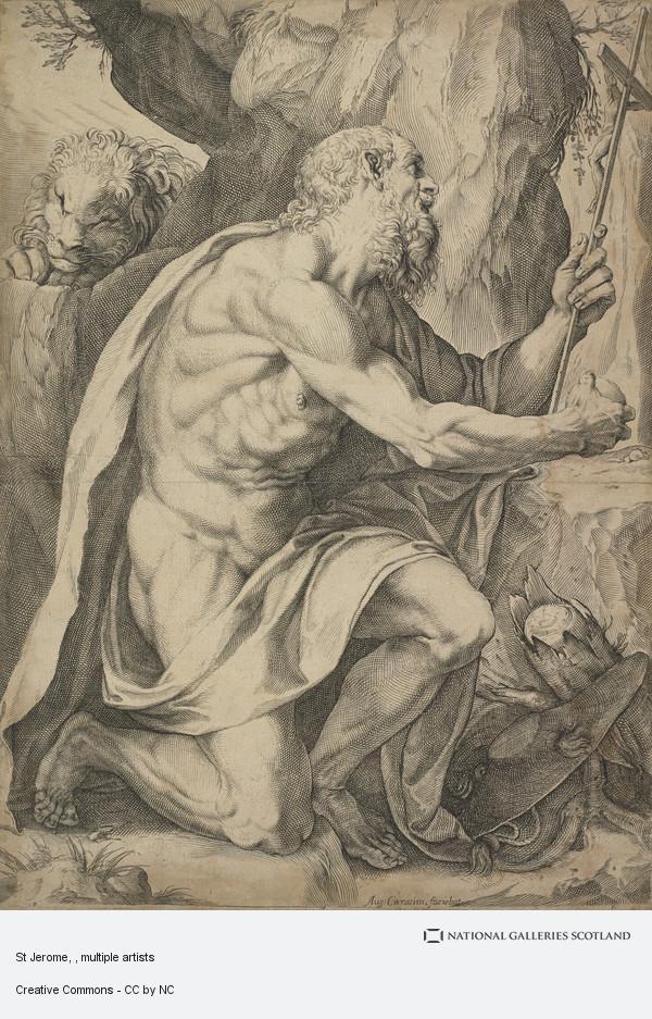 Agostino Carracci, St Jerome