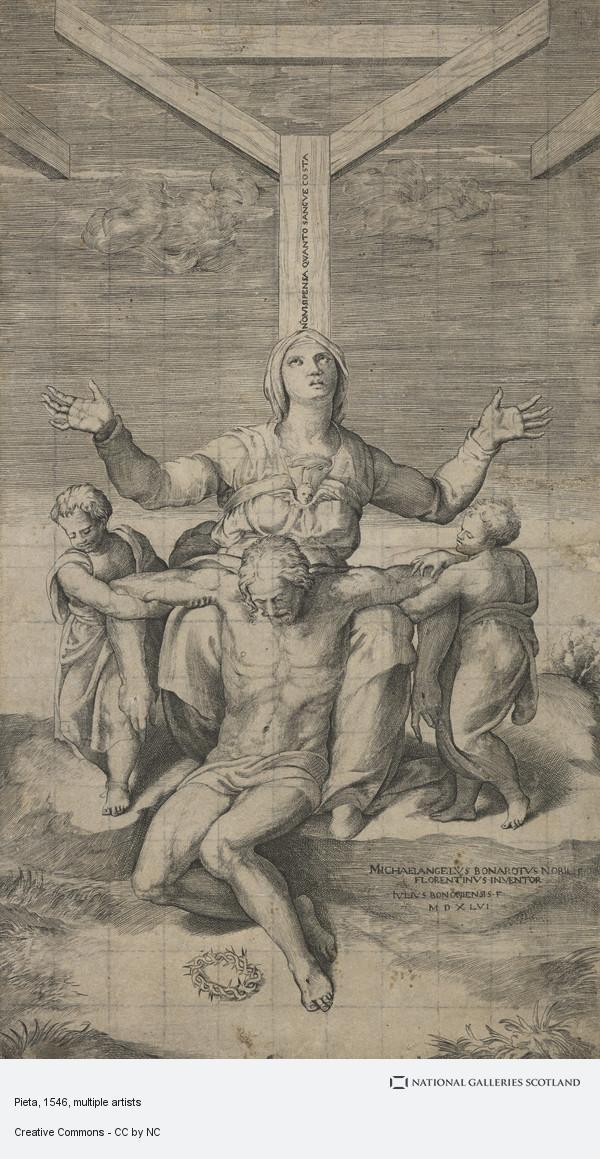 Giulio Bonasone, Pieta