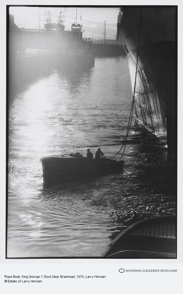 Larry Herman, Rope Boat; King George V Dock,Near Braehead
