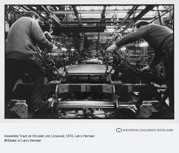 Larry Herman, Assembly Track at Chrysler Ltd, Linwood