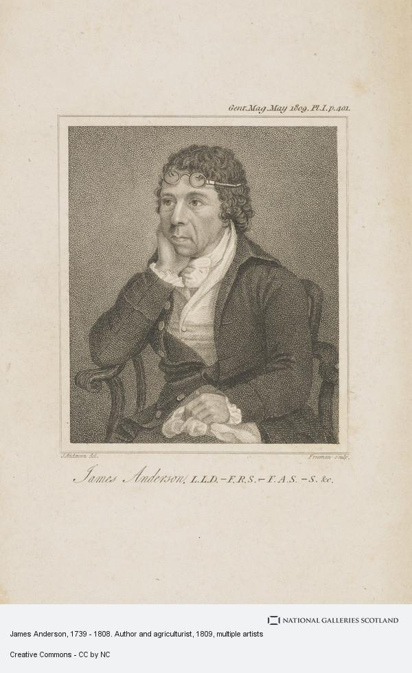 Samuel Freeman, James Anderson, 1739 - 1808. Author and agriculturist