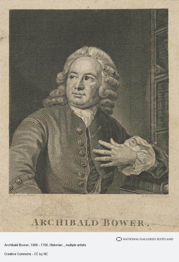 Thomas Holloway, Archibald Bower, 1686 - 1766. HIstorian