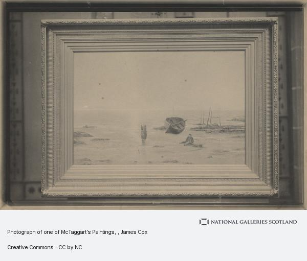 James Cox, Photograph of one of McTaggart's Paintings