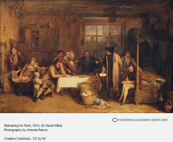 Sir David Wilkie, Distraining for Rent (1815)