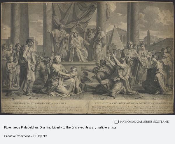 Charles Dupuis, Ptolemaeus Philadelphus Granting Liberty to the Enslaved Jews