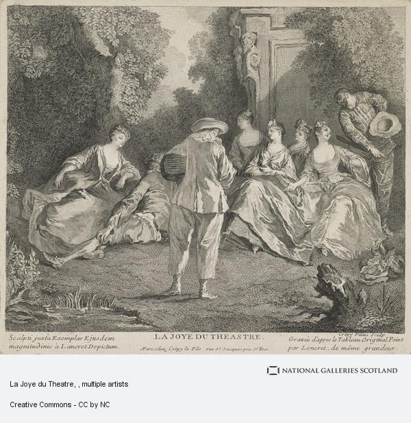 Louis Crepy, La Joye du Theatre