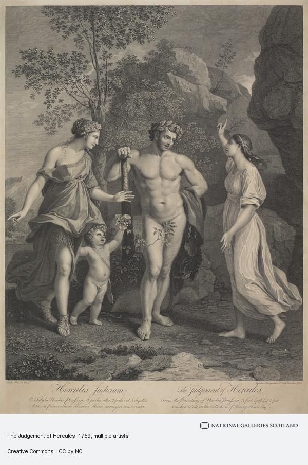 Sir Robert Strange, The Judgement of Hercules