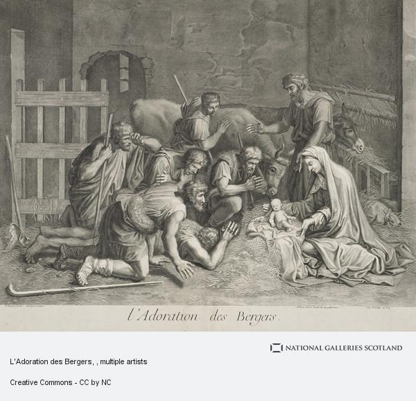 Pierre Lombart, L'Adoration des Bergers