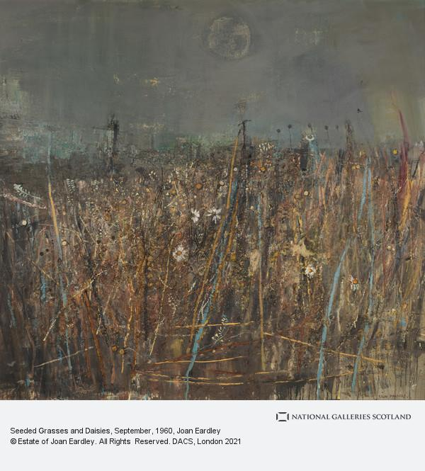Joan Eardley, Seeded Grasses and Daisies, September