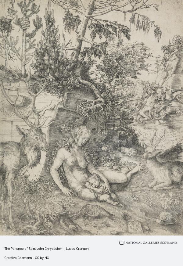 Lucas Cranach, The Penance of Saint John Chrysostom