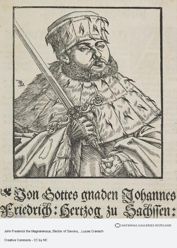 Lucas Cranach, John Frederick the Magnanimous, Elector of Saxony