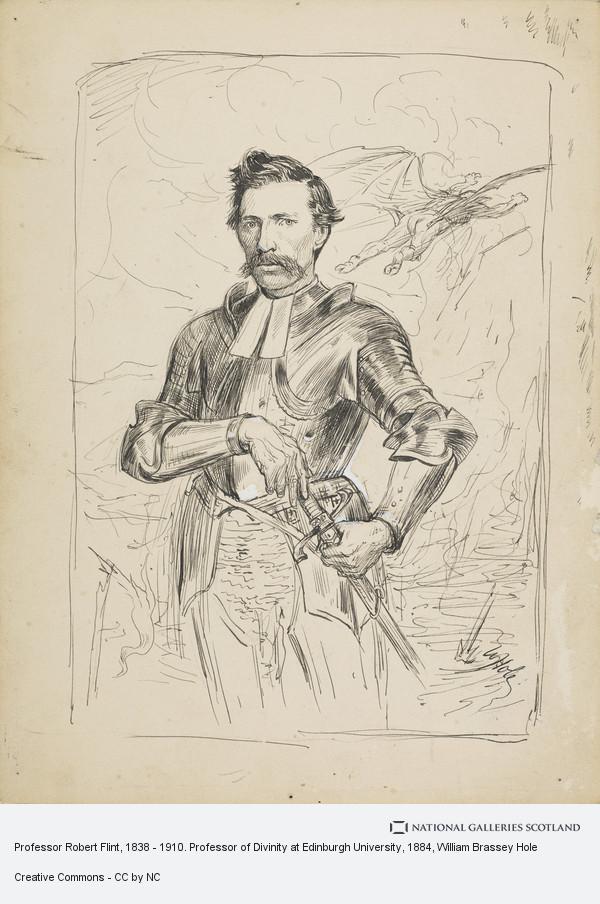 William Brassey Hole, Professor Robert Flint, 1838 - 1910. Professor of Divinity at Edinburgh University