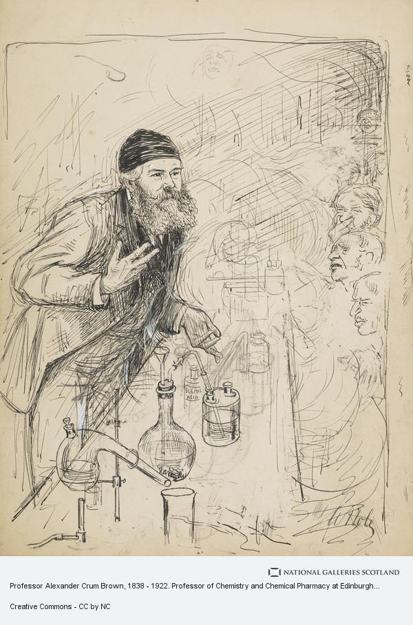 William Brassey Hole, Professor Alexander Crum Brown, 1838 - 1922. Professor of Chemistry and Chemical Pharmacy at Edinburgh University