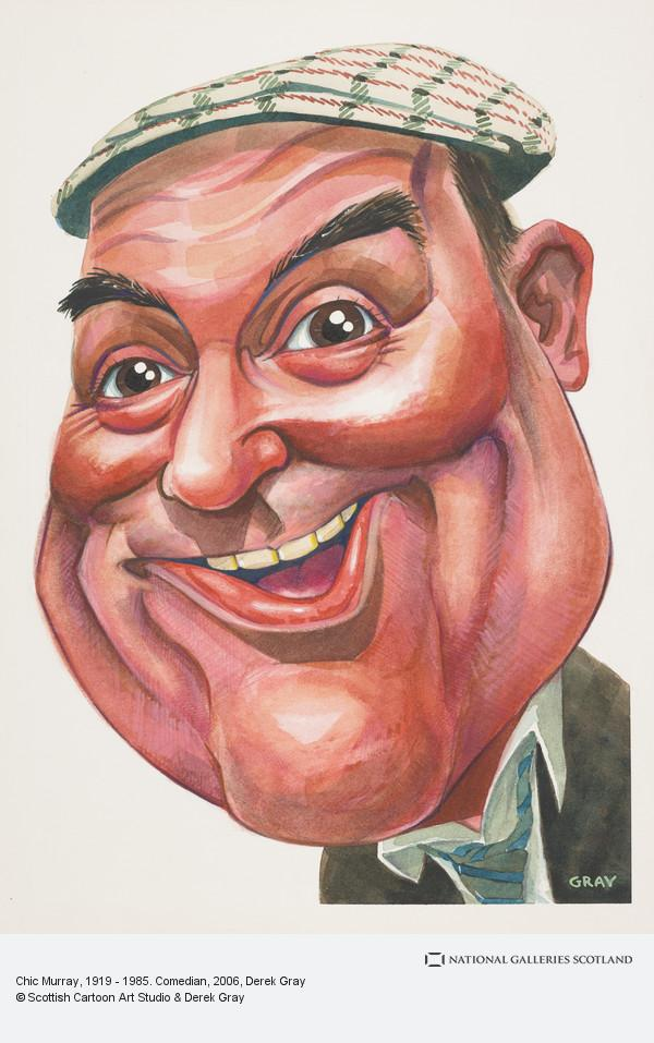 Derek Gray, Chic Murray, 1919 - 1985. Comedian