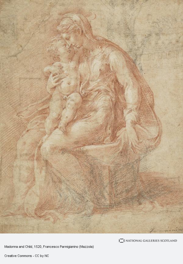 Francesco Parmigianino, Madonna and Child