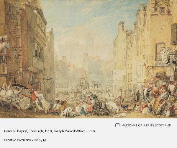 Joseph Mallord William Turner, Heriot's Hospital, Edinburgh
