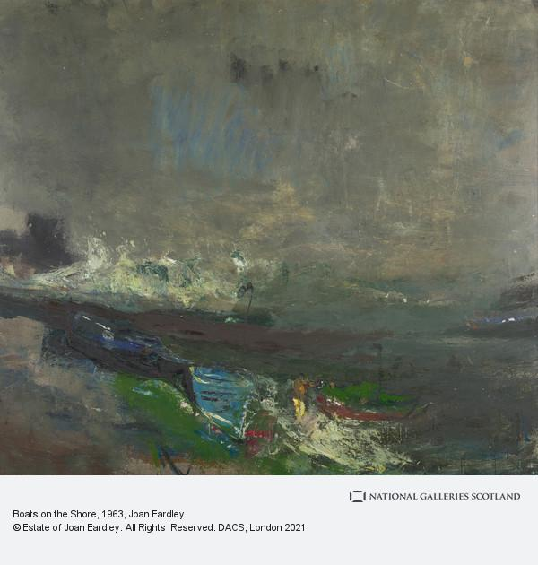 Joan Eardley, Boats on the Shore