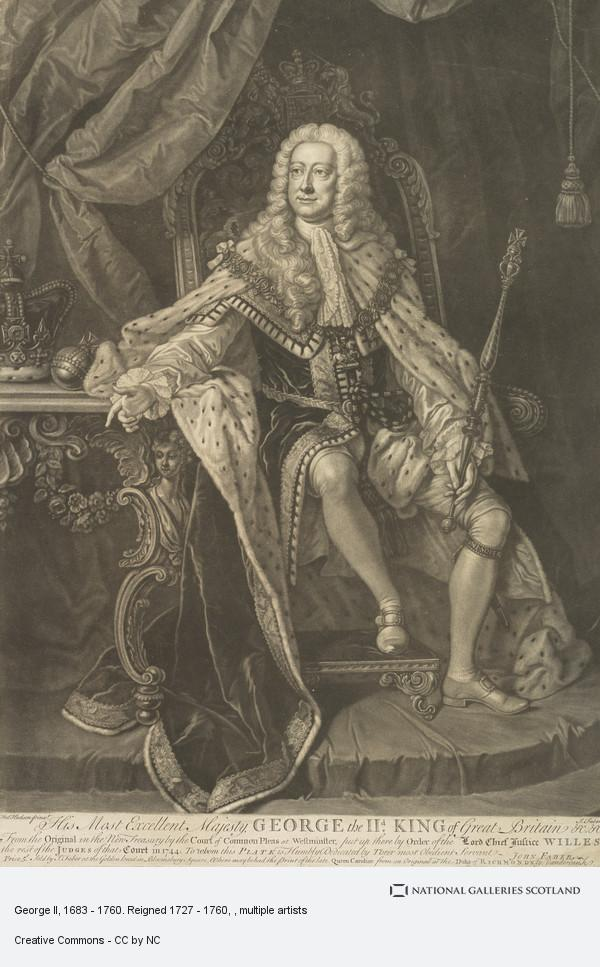Thomas Hudson, George II, 1683 - 1760. Reigned 1727 - 1760