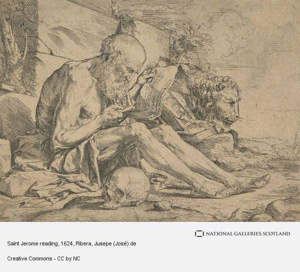 Ribera, Jusepe (José) de, Saint Jerome reading