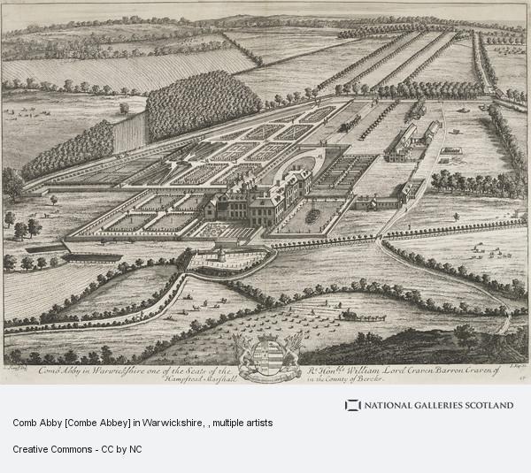 Johannes Kip, Comb Abby [Combe Abbey] in Warwickshire