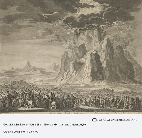 God giving his Law at Mount Sinai - Exodus XIX | National Galleries
