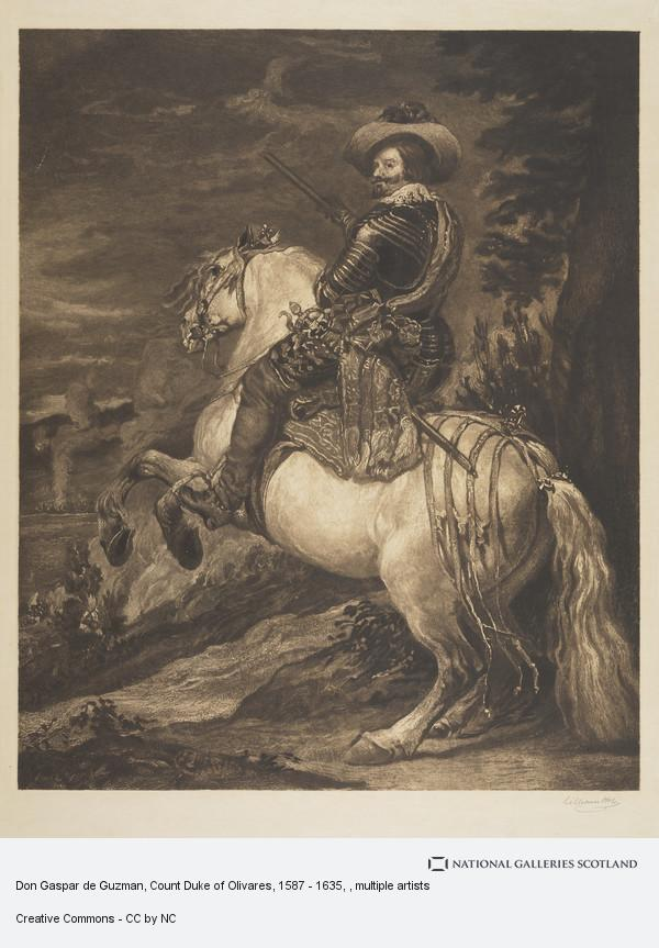 William Brassey Hole, Don Gaspar de Guzman, Count Duke of Olivares, 1587 - 1635