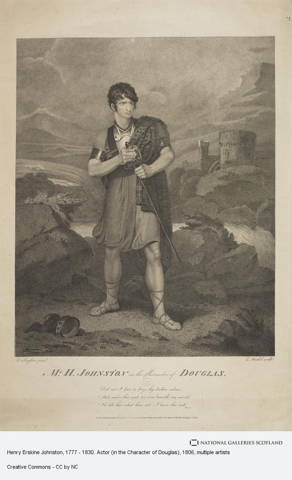 Edward Mitchell, Henry Erskine Johnston, 1777 - 1830. Actor (in the Character of Douglas)
