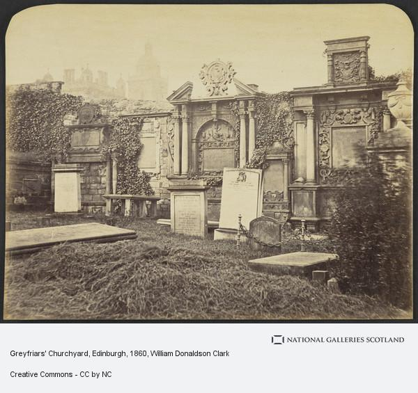 William Donaldson Clark, Greyfriars' Churchyard, Edinburgh