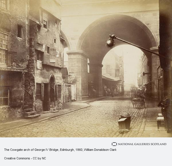 William Donaldson Clark, The Cowgate arch of George IV Bridge, Edinburgh