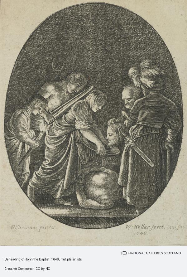 Wenceslaus Hollar, Beheading of John the Baptist