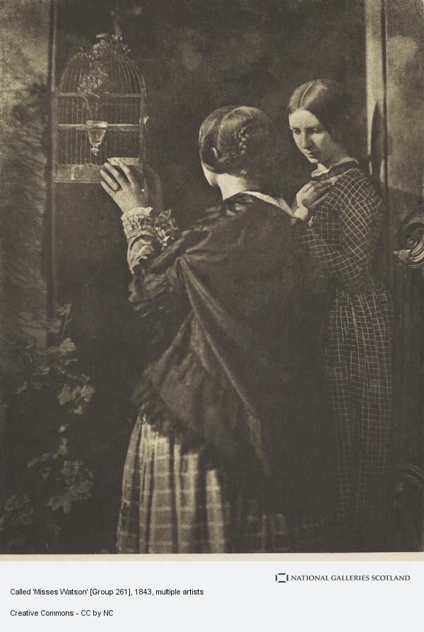 James Craig Annan, Called 'Misses Watson' [Group 261]