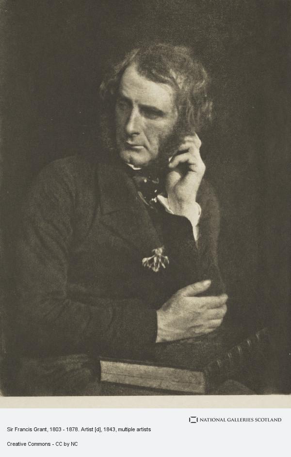 James Craig Annan, Sir Francis Grant, 1803 - 1878. Artist [d]