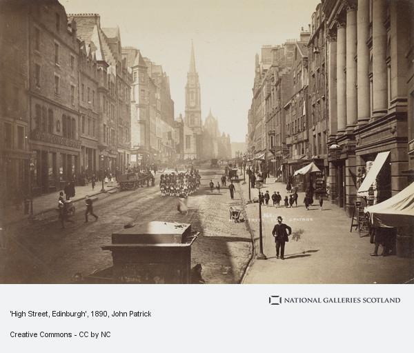 John Patrick, 'High Street, Edinburgh'