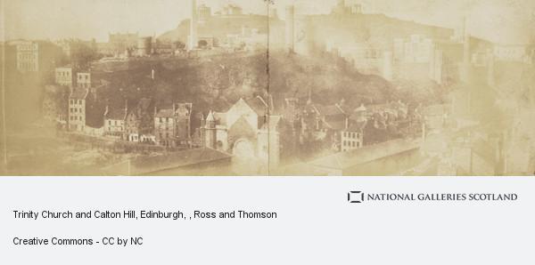 Ross and Thomson, Trinity Church and Calton Hill, Edinburgh
