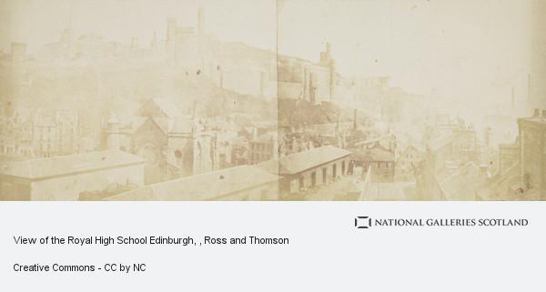 Ross and Thomson, View of the Royal High School Edinburgh